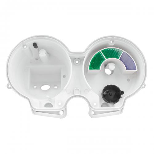 Carcaça Interna Branca do Painel Adaptável p/ Fan 125 05-13 (sem visor)