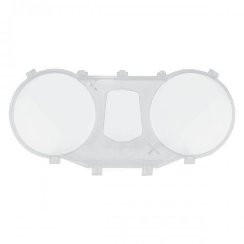 Carcaça Superior do Painel Intermediária Adaptável para CBX 250 Twister preta 01-08 (com lente)