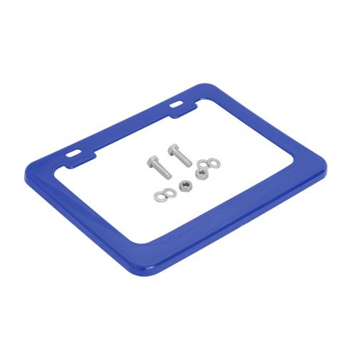 Moldura de Placa 187x136mm (c/ porca, parafuso, arruela) azul