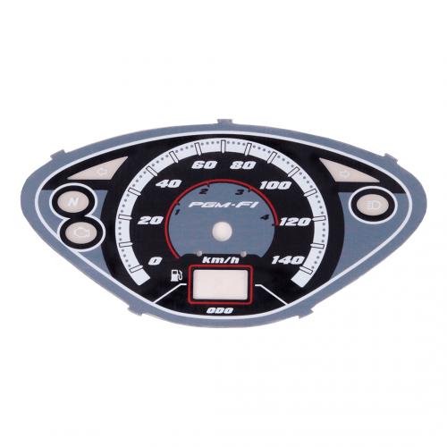 Mostrador do Velocímetro Painel Adaptável p/ Biz 125 + 2010