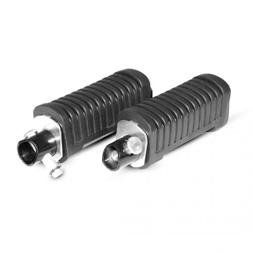 Pedaleira Traseira Completa (Par) Adaptável p/ Titan 125/150 ES/ESD