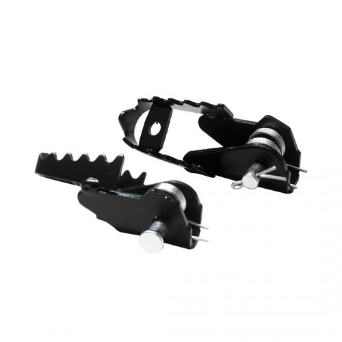 Pedaleira Dianteira Par (Sem Borracha) Adaptável p/ Bros 2014 NX/XR/XLR/NXR125/150