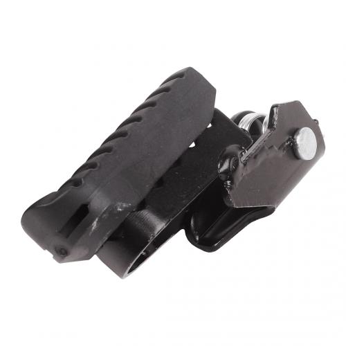 Pedaleira Dianteira Esquerda (Com Borracha) Adaptável p/ Bros 2014 NX/XR/XLR/NXR125/150